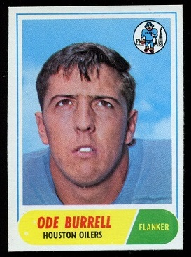 1968 Topps #146 - Ode Burrell - nm
