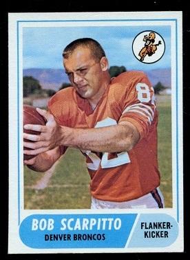 1968 Topps #147 - Bob Scarpitto - nm