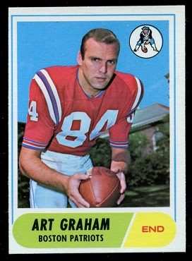 1968 Topps #150 - Art Graham - nm