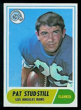 1968 Topps #156 - Pat Studstill - nm