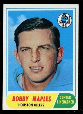 1968 Topps #16 - Bobby Maples - nm oc
