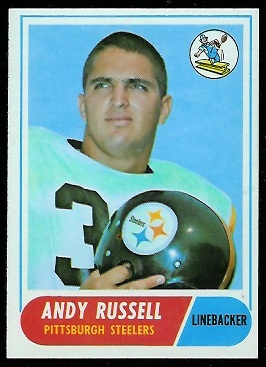 1968 Topps #163 - Andy Russell - exmt