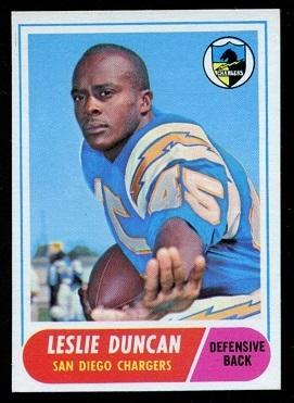 1968 Topps #167 - Speedy Duncan - exmt