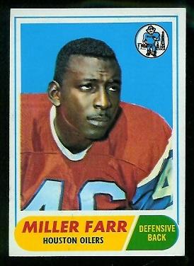 1968 Topps #172 - Miller Farr - nm