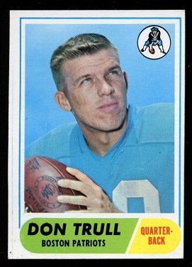 1968 Topps #176 - Don Trull - nm