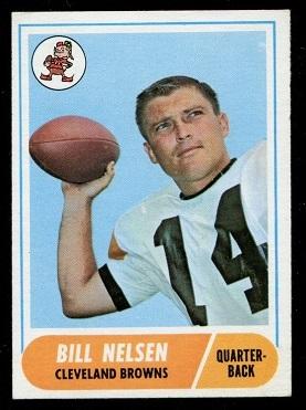 1968 Topps #189 - Bill Nelsen - exmt