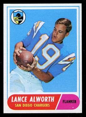 1968 Topps #193 - Lance Alworth - nm