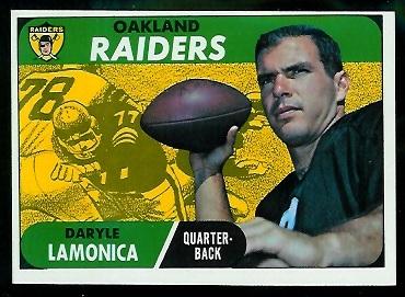 1968 Topps #194 - Daryle Lamonica - nm oc