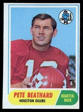 1968 Topps #198 - Pete Beathard - ex