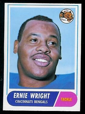 1968 Topps #200 - Ernie Wright - exmt