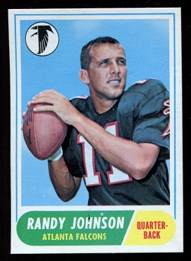1968 Topps #203 - Randy Johnson - nm+