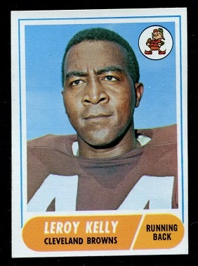 1968 Topps #206 - Leroy Kelly - nm-mt oc