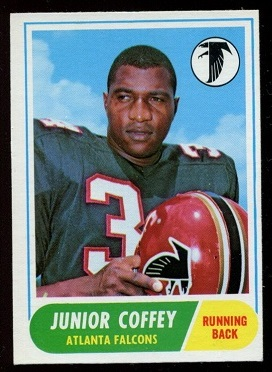 1968 Topps #21 - Junior Coffey - ex+