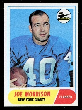 1968 Topps #211 - Joe Morrison - nm