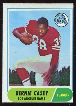 1968 Topps #28 - Bernie Casey - nm