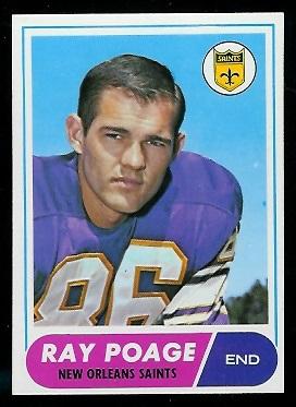 1968 Topps #30 - Ray Poage - nm