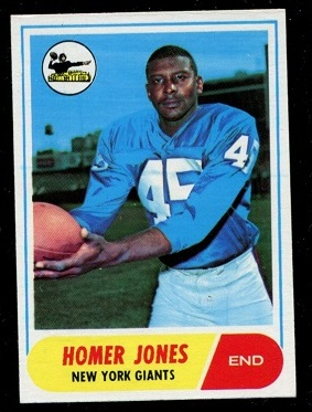 1968 Topps #31 - Homer Jones - exmt