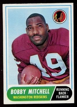 1968 Topps #35 - Bobby Mitchell - nm