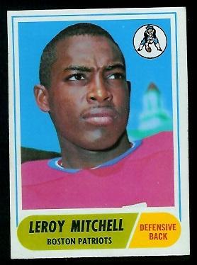 1968 Topps #45 - Leroy Mitchell - exmt