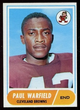 1968 Topps #49 - Paul Warfield - nm