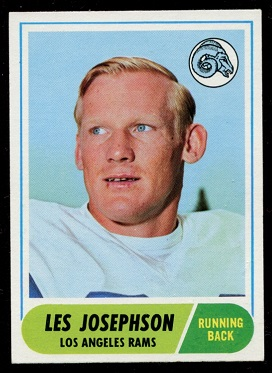 1968 Topps #53 - Les Josephson - exmt