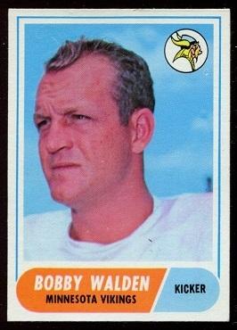 1968 Topps #54 - Bobby Walden - nm+