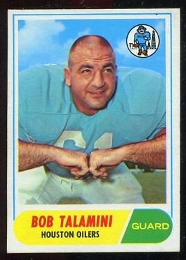 1968 Topps #68 - Bob Talamini - nm