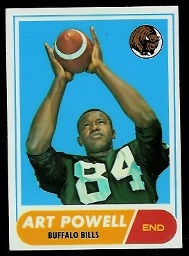 1968 Topps #71 - Art Powell - nm