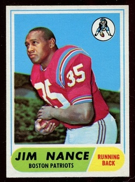 1968 Topps #72 - Jim Nance - nm