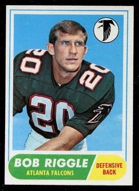 1968 Topps #73 - Bob Riggle - exmt