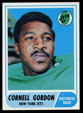 1968 Topps #91 - Cornell Gordon - nm