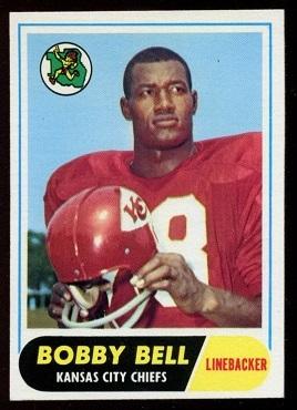 1968 Topps #93 - Bobby Bell - exmt