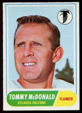 1968 Topps #99 - Tommy McDonald - exmt