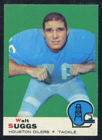 1969 Topps #118 - Walt Suggs - nm