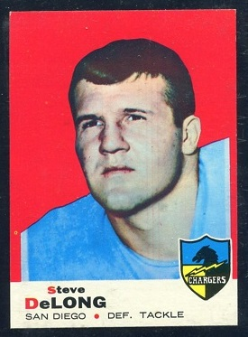 1969 Topps #129 - Steve DeLong - nm