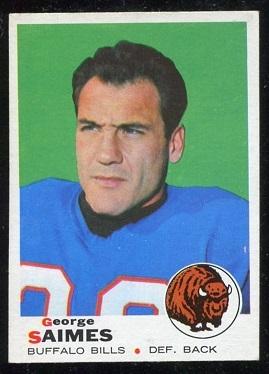 1969 Topps #142 - George Saimes - nm