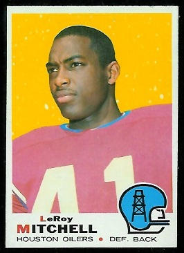 1969 Topps #183 - Leroy Mitchell - nm