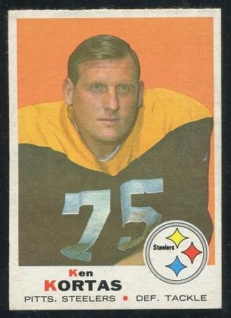 1969 Topps #199 - Ken Kortas - nm