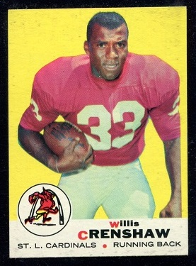 1969 Topps #21 - Willis Crenshaw - nm