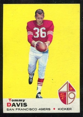 1969 Topps #22 - Tommy Davis - nm