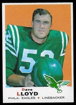 1969 Topps #220 - Dave Lloyd - nm