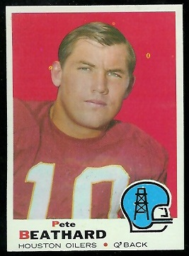 1969 Topps #221 - Pete Beathard - nm
