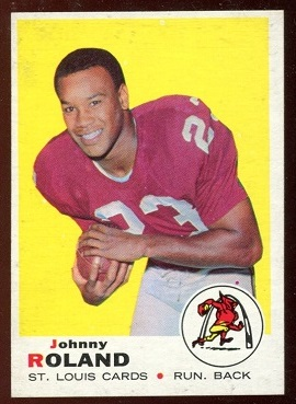 1969 Topps #225 - Johnny Roland - nm