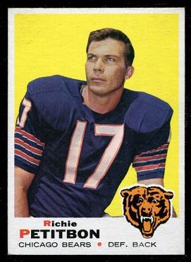 1969 Topps #230 - Richie Petitbon - nm+