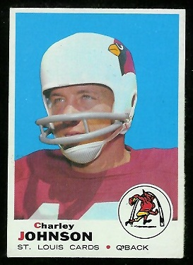 1969 Topps #247 - Charley Johnson - nm