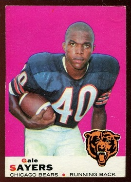 1969 Topps #51 - Gale Sayers - ex