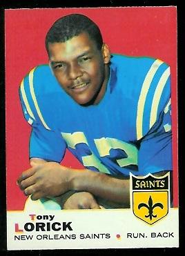 1969 Topps #61 - Tony Lorick - nm