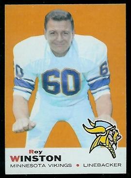 1969 Topps #82 - Roy Winston - nm