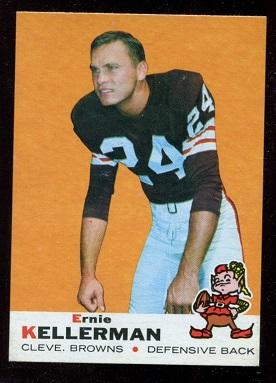1969 Topps #96 - Ernie Kellermann - nm