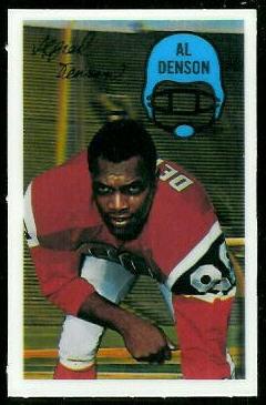 1970 Kelloggs #18 - Al Denson - nm-mt